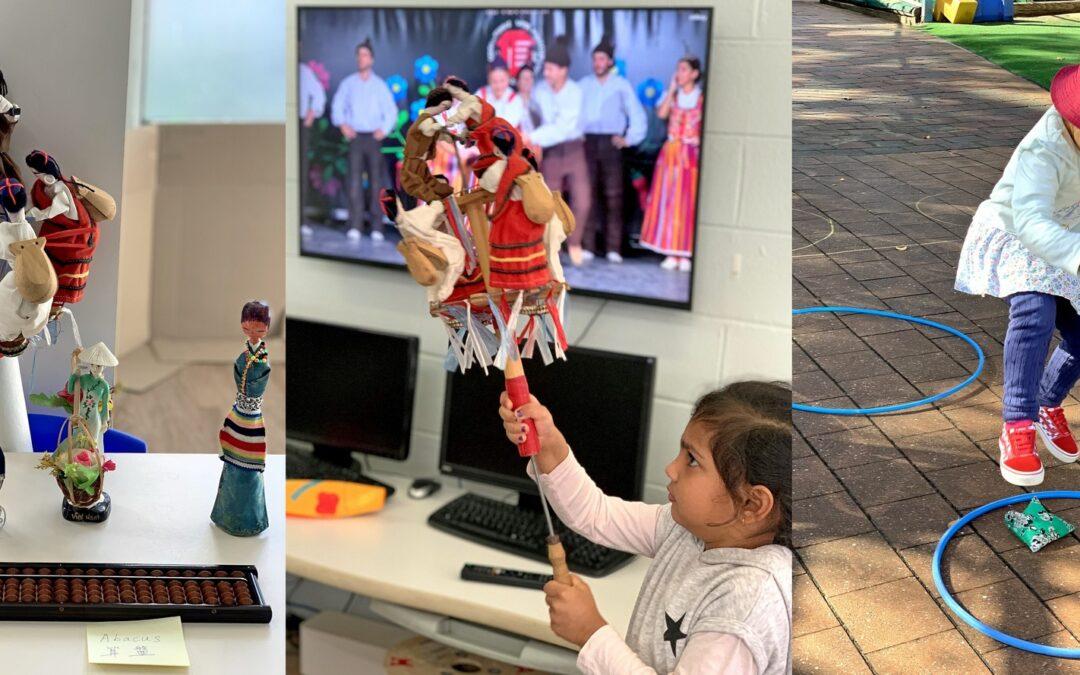 助孩子們學習多元文化並拓展眼界  華人服務社早教中心慶國際兒童節