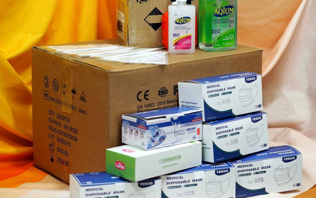 齊心協力發揮社區互助精神  華人服務社獲多方捐贈物資