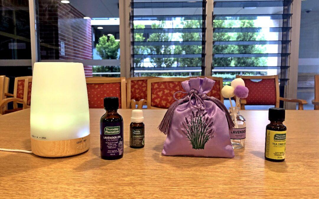 讓芬芳香味為長者帶來美好體驗 —  記高齡頤養院香薰療法點滴