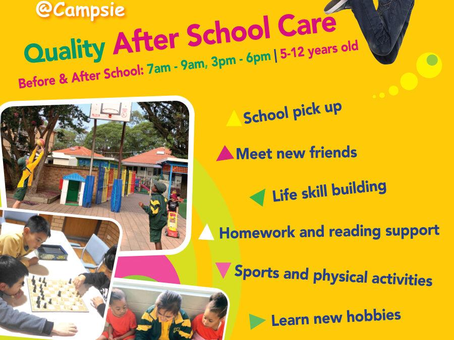 墾思CASS Gumnut早教中心,提供專業課前及課後照看服務