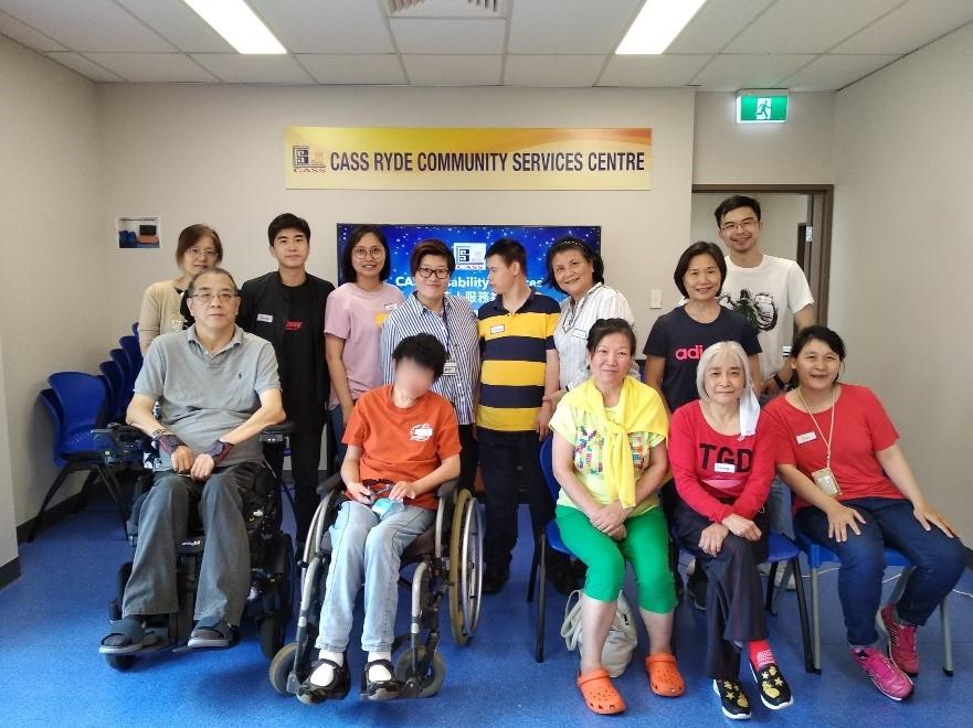 濟濟一堂共聚辭舊迎新  —  記殘障個人支援服務參與者歲末慶祝活動點滴