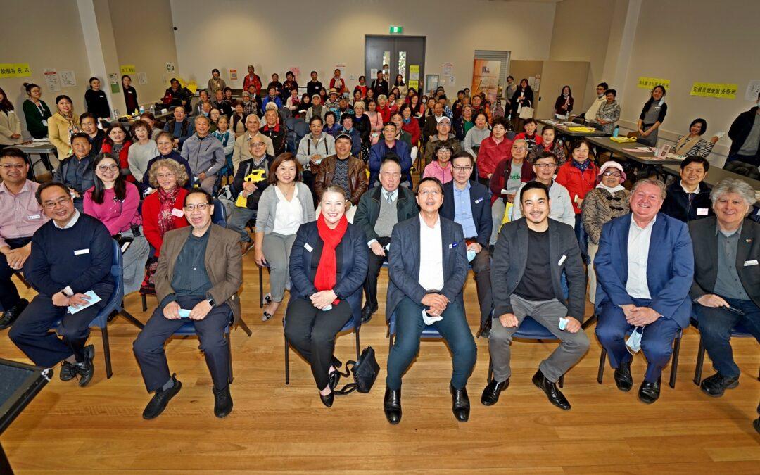 我社「社區服務資訊日」 圓滿於懷德市舉行盛況空前
