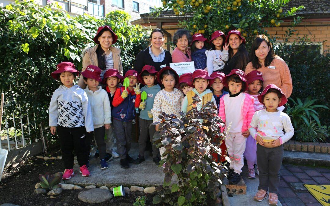 啓思早教中心致力培養孩子環保意識  喜獲Woolworths超市資助翻新農圃設施