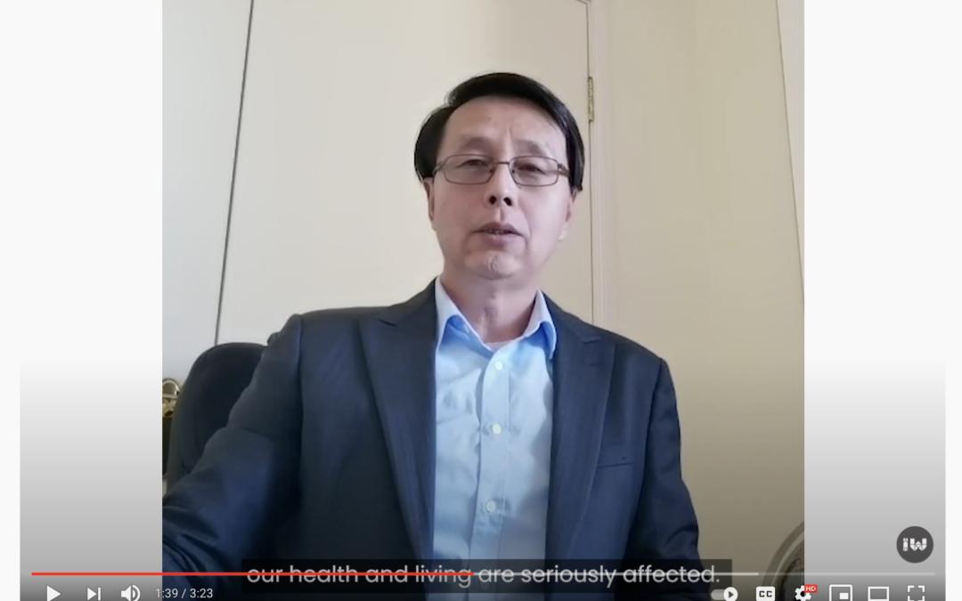 內西區市政府發布疫苗接種短片  我社主席以及工作夥伴參與拍攝